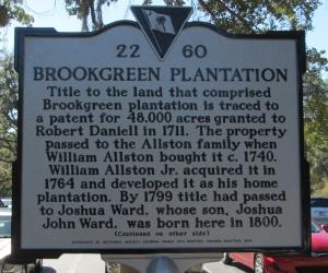 Brookgreen Marker