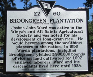 Brookgreen marker side 2