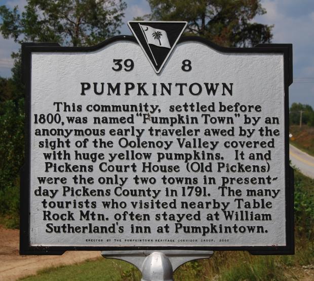 Pumpkintown Marker